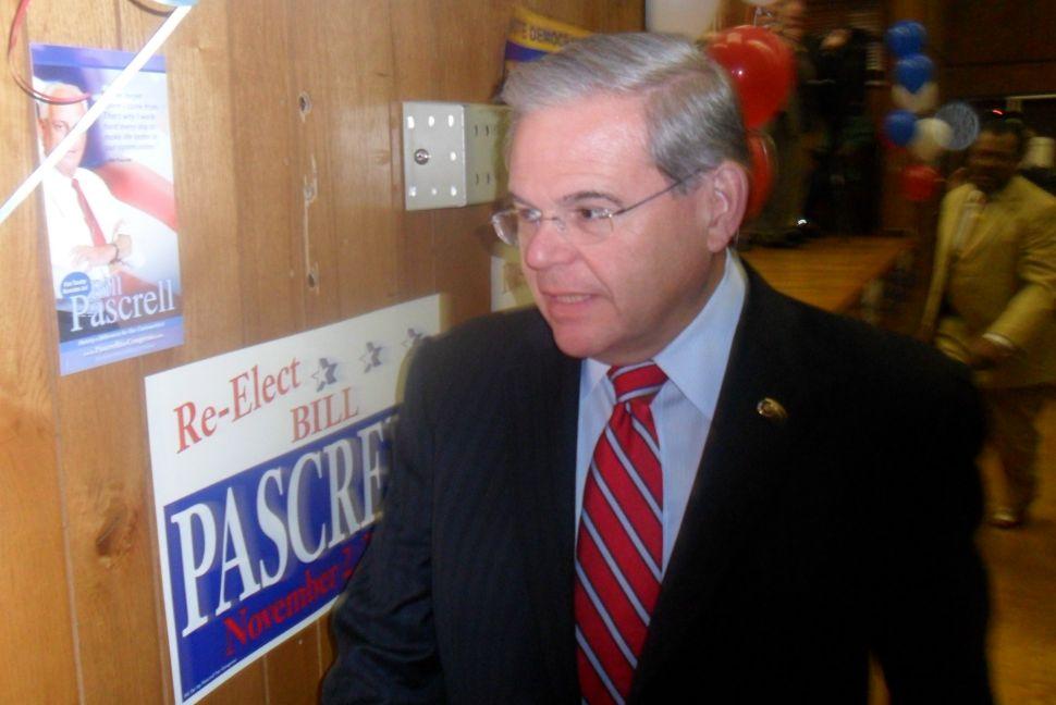 Menendez pushes back in Passaic County