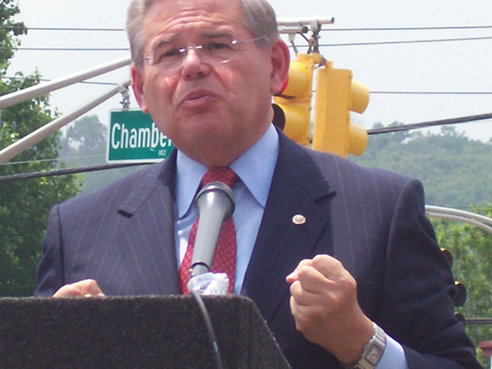 Menendez: 'Doing nothing is not an option'
