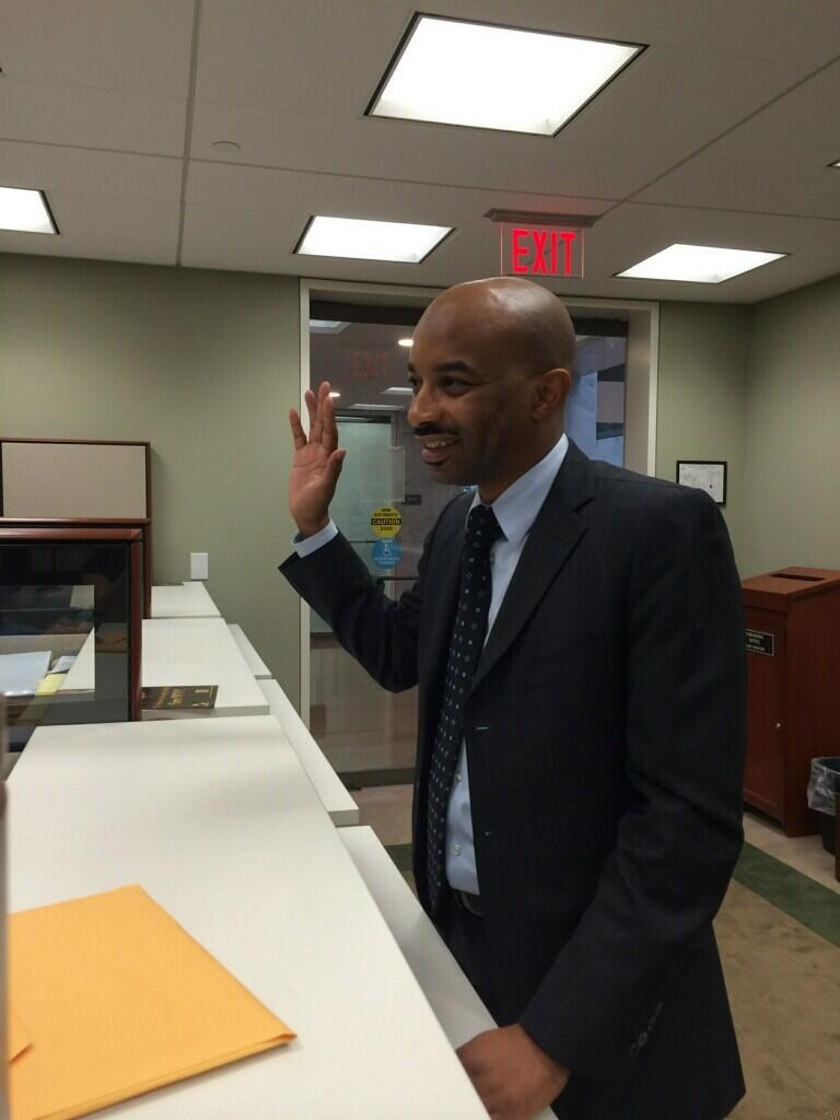 Butler takes the oath of office in DC