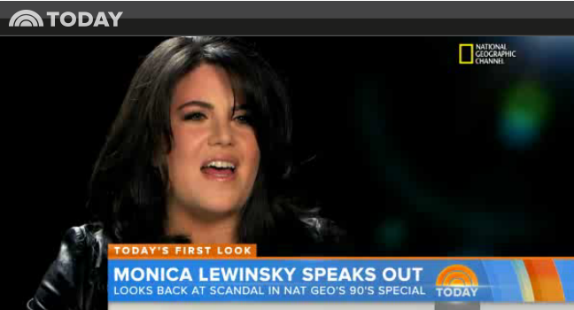 tvRoundup: Monica Lewinsky Speaks Out for the First Time (video)