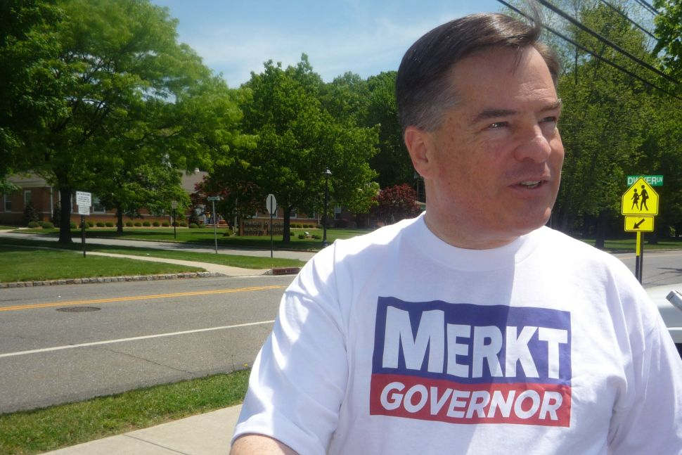 Still in the race for governor, Merkt completes 566-town tour