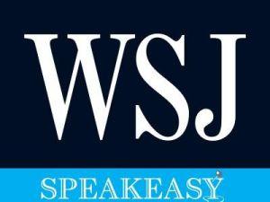 Wall Street Journal Speakeasy logo