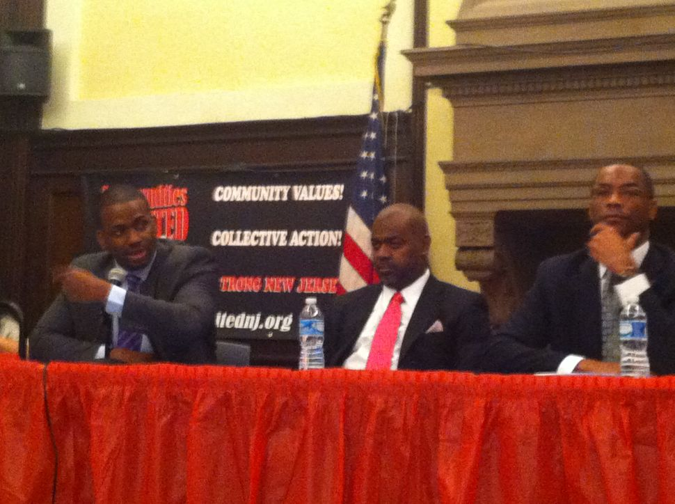 Three out of four Newark mayoral candidates spar over education issues