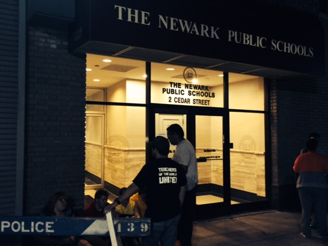 Newark students hold overnight protest calling for Superintendent Anderson's removal