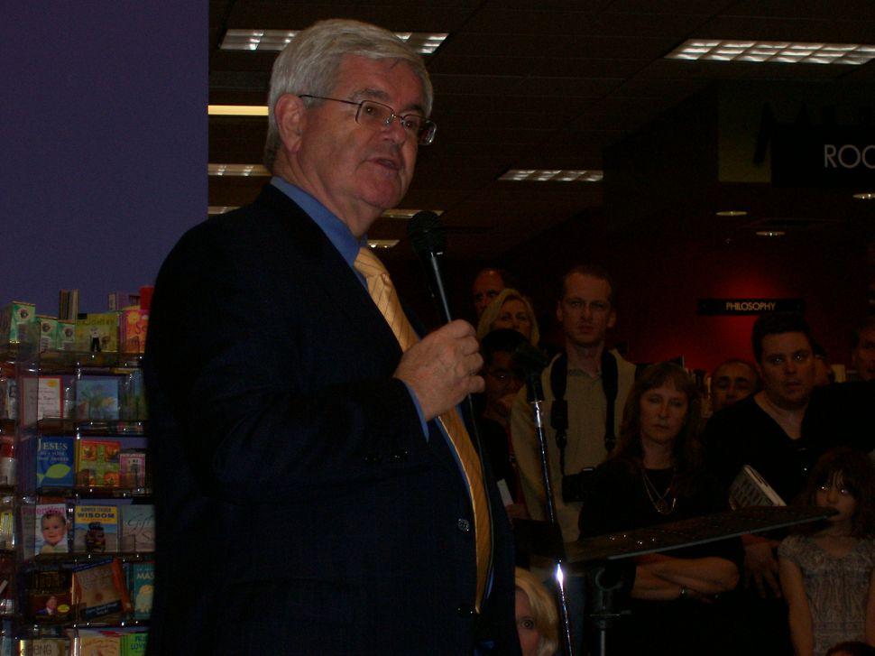 Gingrich on Lautenberg: It's ideas, not age