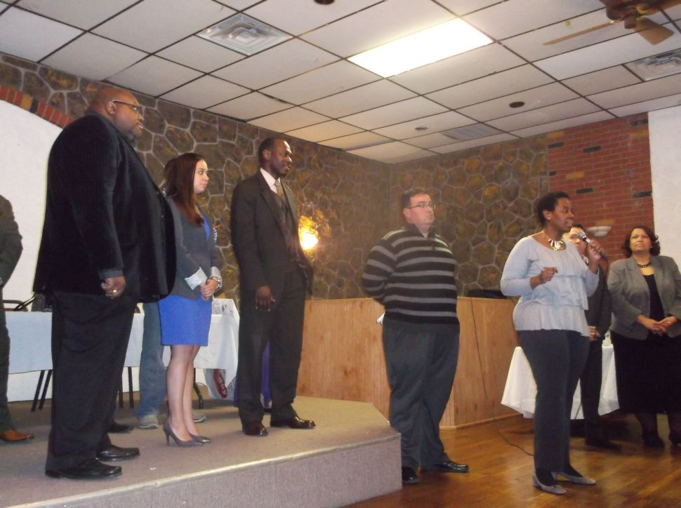 Union County Dem Freeholder challengers haul off on DeFilippo