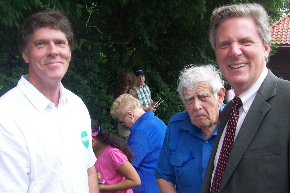 Pallone launches his campaign with appeal to grassroots progressive organizing