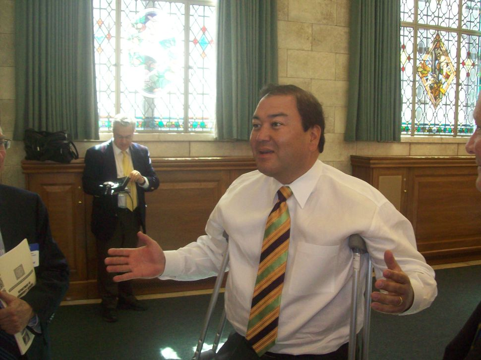 O'Toole praises Christie choice of Patterson