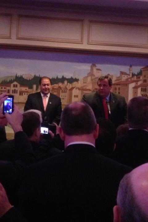 O'Toole raises at least $200K at annual fundraiser attended by Governor Christie