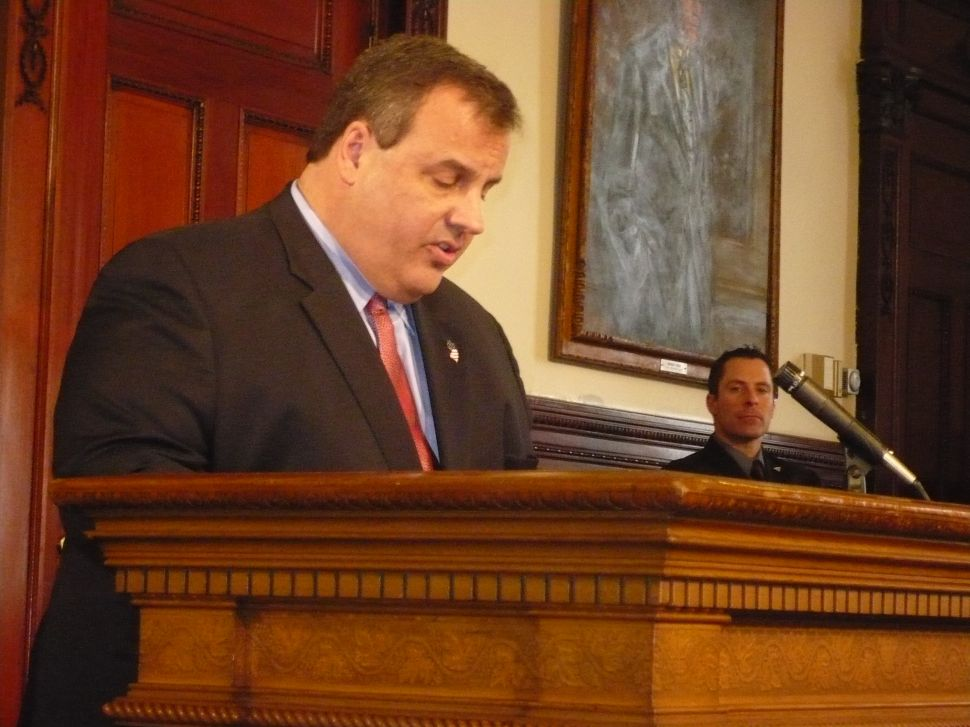 Christie touches on toll hikes, pensions reform lawsuits, and credit downgrade