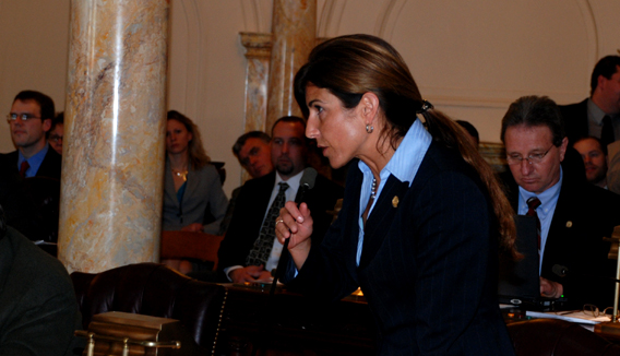 First week gut level budget impact in Marlboro pits Christie and Beck against Hornik