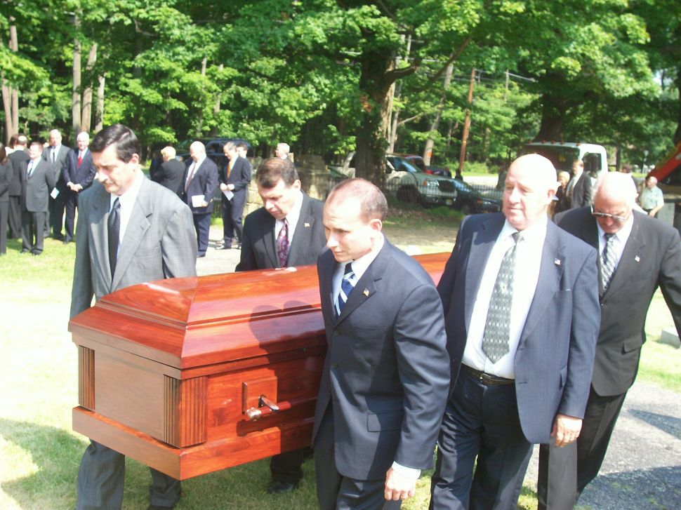 Wesley L. Lance is laid to rest in Hunterdon soil