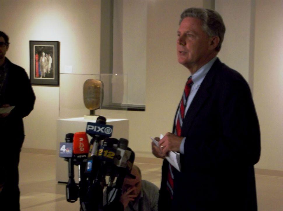 Pallone praises legal challenges to Christie decision regarding U.S. Senate election
