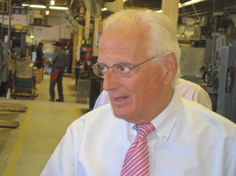 Pascrell unveils support of former Bergen Chairman Mecca