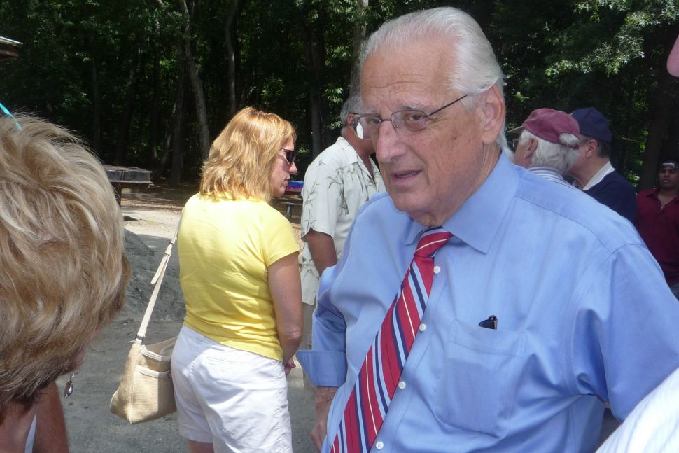 Pascrell sells Corzine in Parsippany