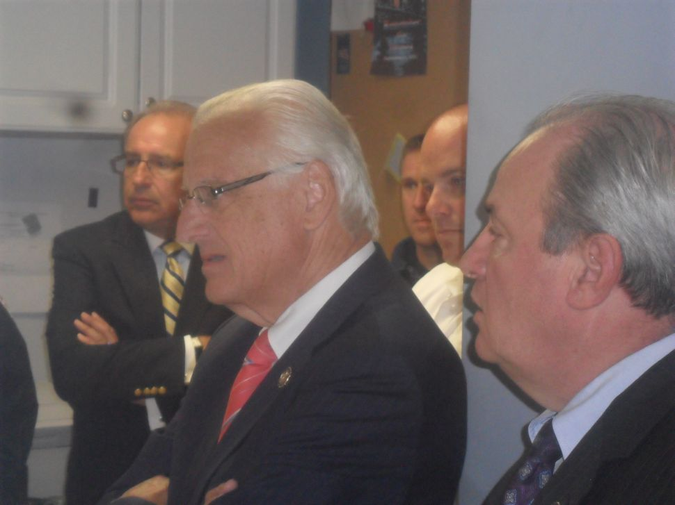 Pascrell hits the fire houses in South Bergen