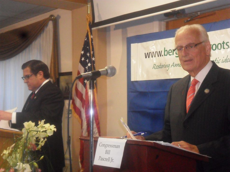 In News 12 debate in Teaneck, Pascrell hounds Rothman on decision not to face Garrett