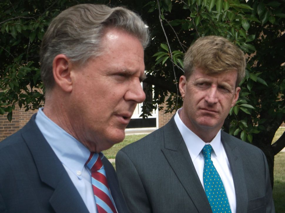 Kennedy on Pallone: 'I believe he will be the next senator'
