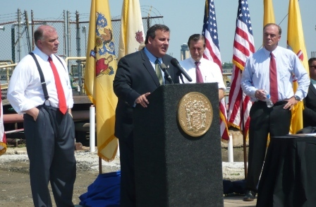 Placating and plugging: Christie in South Jersey
