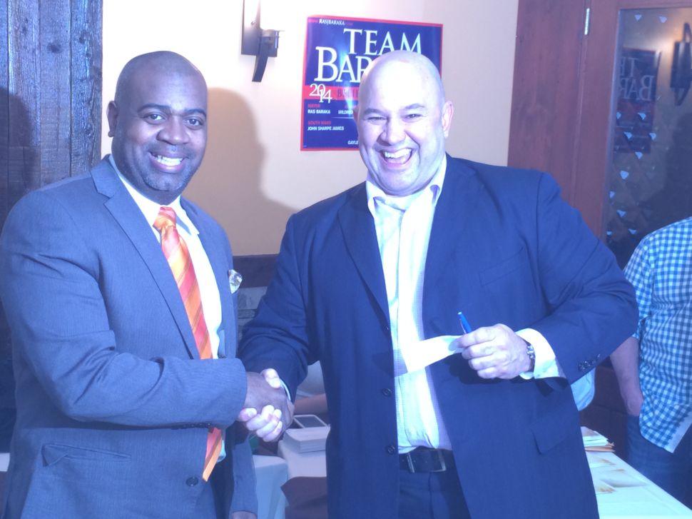 Baraka and Fonseca display unity at fundraiser in Newark's East Ward