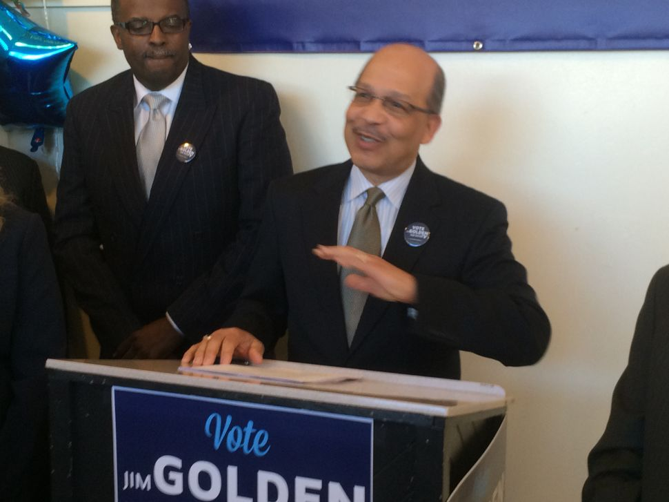 """Trenton Mayor's race: Golden rolls out slate, says post-Mack city government needs to get """"blown up"""""""