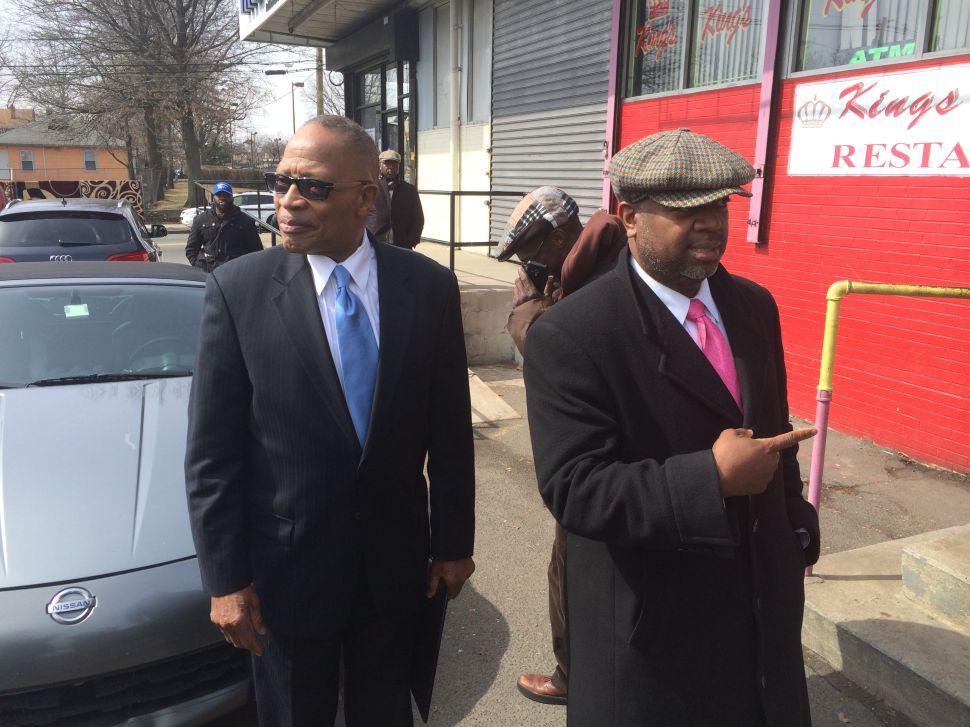 Former Newark Mayor Sharpe James endorses Baraka in city mayoral race
