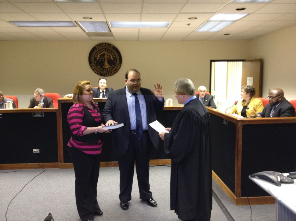 Munoz elected chair of the Hudson Freeholder Board