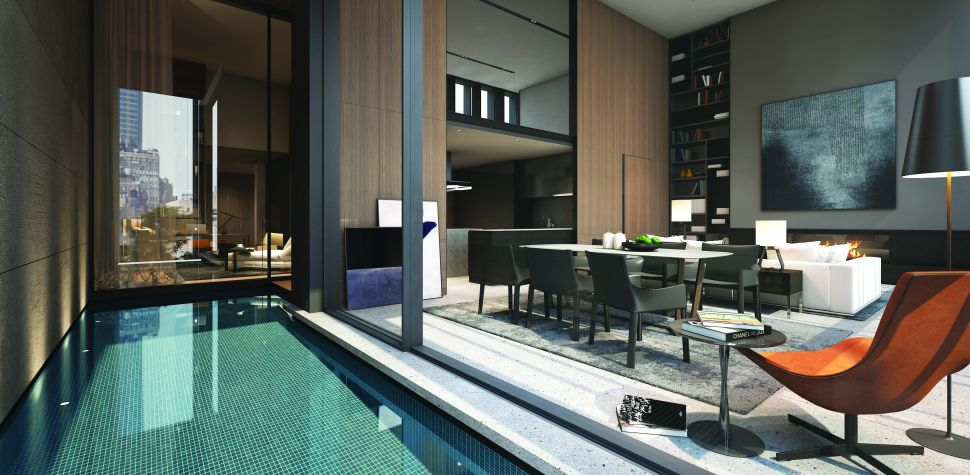 One Building, 16 Pools: Architect Soo Chan's Debut New York City Project