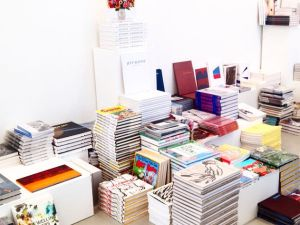 Pop-up bookstore at David Zwirner. (Photo Courtesy of David Zwirner)