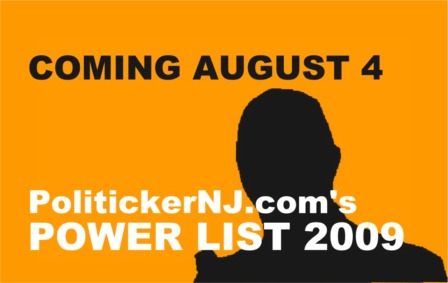 PolitickerNJ.com's 2009 Power List