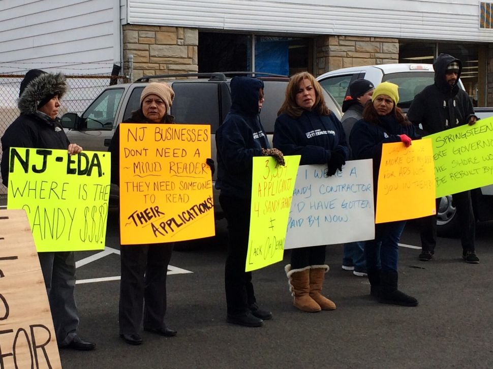 Small businesses owners affected by Sandy looking for answers