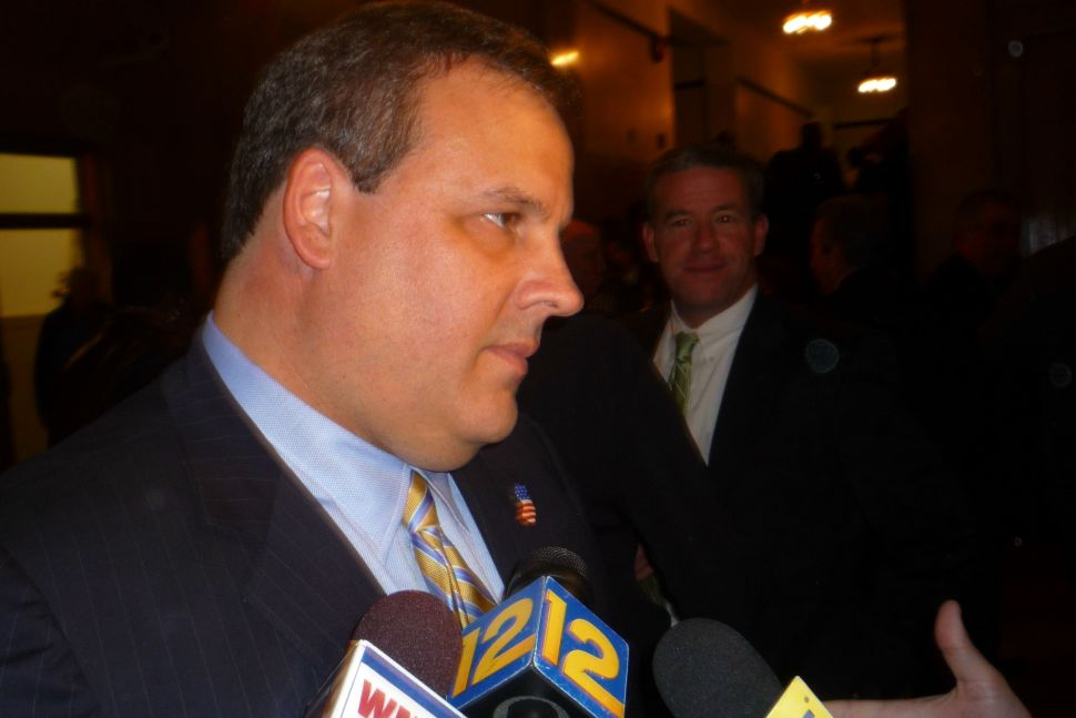 When it comes to new taxes, Christie calls for two-thirds vote in both houses