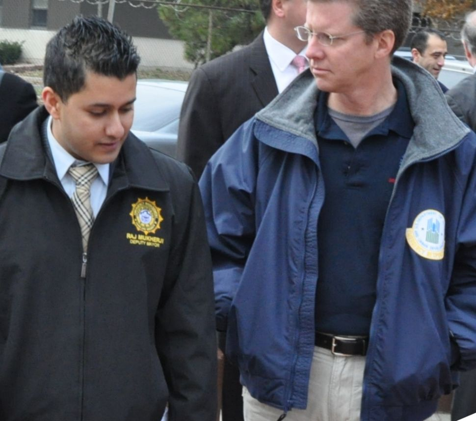 With Healy out and Fulop in, does Mukherji head to Trenton looking over his shoulder?