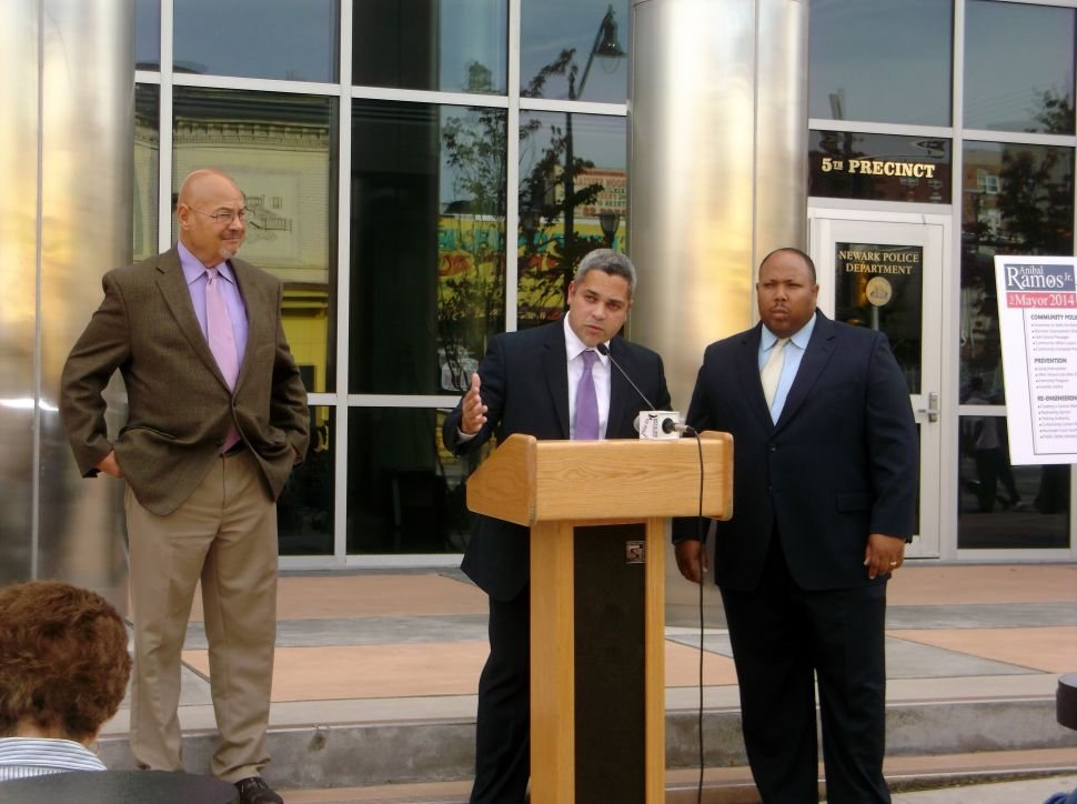 Ramos steps out with public safety plan
