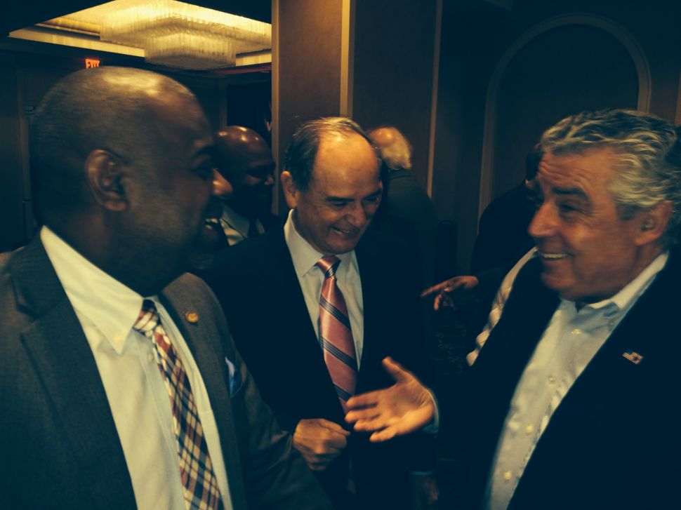 Newark mayor's race: At pre-Walk to Washington breakfast, Baraka looks at campaign's last three weeks, defends brother