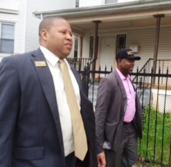 Newark mayor's race: walking with Baraka in the West Ward, slate mate John Sharpe James ready to win in the South Ward