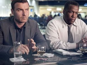 Liev Schreiber as Ray Donovan and Wendell Pierce as Mr. Keith in Ray Donovan (Season 2, Episode 2) - Photo: Suzanne Tenner/SHOWTIME - Photo ID: RayDonovan_202_0073.R