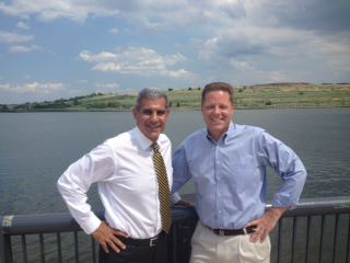After dock front appearance with Kyrillos, Reiman says he supports Menendez