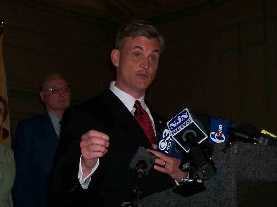 Touting Iraq war plan, Andrews makes formal announcement for U.S. Senate seat
