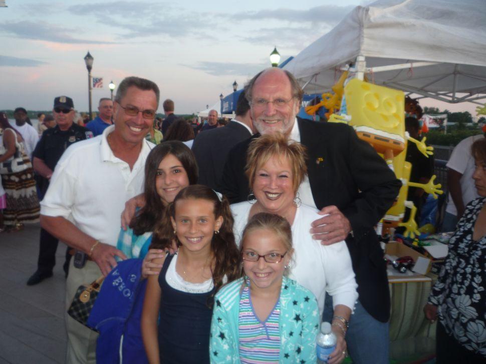 Corzine focuses Friday evening energies on Carteret