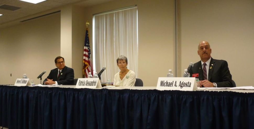 Stark differences of Rothman and Agosta in 9th District debate