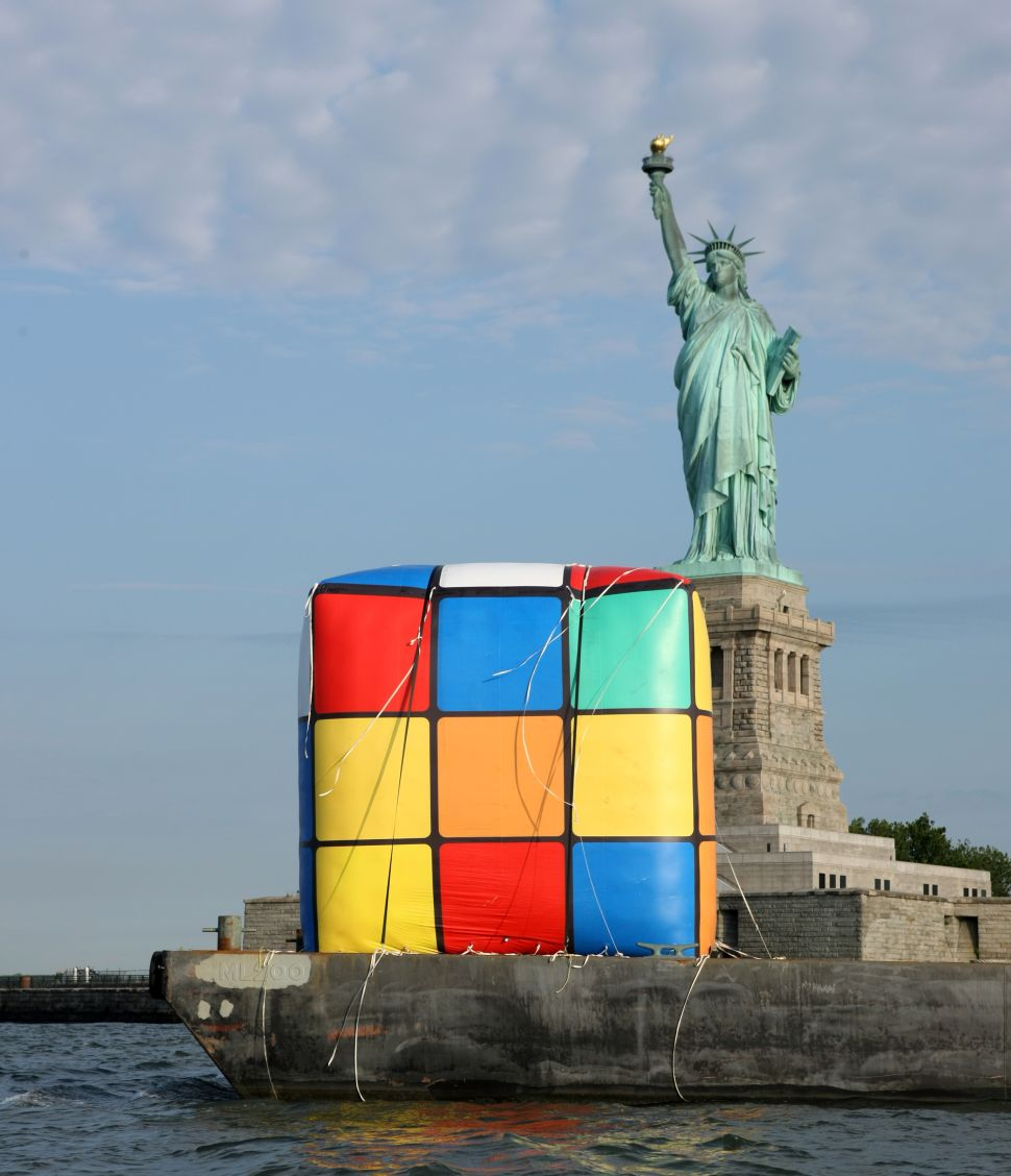 Happy 40th, Rubik's Cube! Now Take a Ride Down the Hudson River