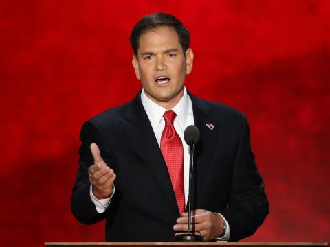 Christie rivals Paul and Rubio differ on views of national security import of Syria