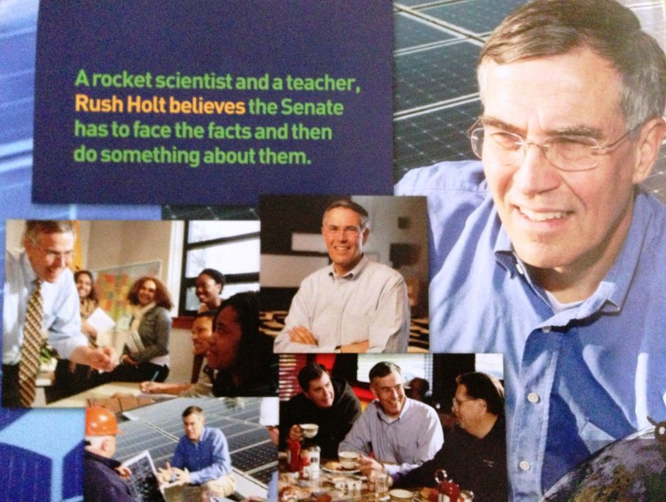 Calling for solutions, not bipartisan photo-ops, Holt zings Booker in mailer