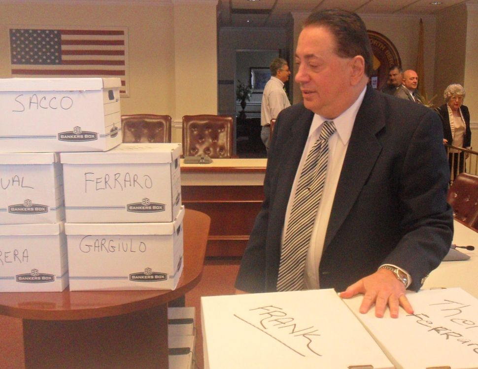 Filing to run again for North Bergen mayor, Sacco calls GOP map 'far-fetched'