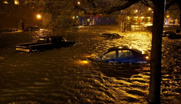 Hurricane Sandy, Alphabet City. (Matthew Kraus, flickr)