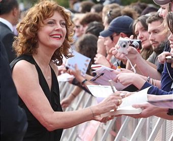 How about Susan Sarandon for Governor?