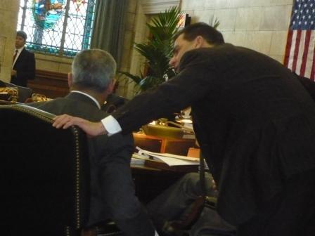 Gravino vote tabled under mound of Reform Jersey questions
