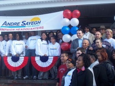 In Paterson, Sayegh the first to submit petition signatures toward 2014 mayoral run