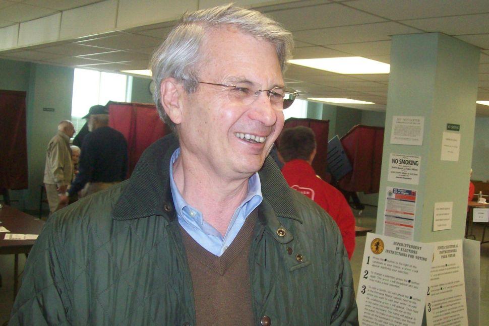 Schmidt votes in West Orange